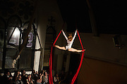 Aerial Cirque performance. Dublin. ©Tamara Him.