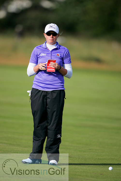 Stacey Lewis<br /> Ricoh Womens British Open 2012<br /> Picture Credit: Mark Newcombe  / www.visionsingolf.com