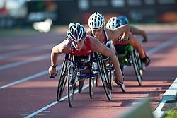 MCFADDEN Tatyana, USA, 5000m, T54, 2013 IPC Athletics World Championships, Lyon, France
