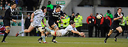 Twickenham, GREAT BRITAIN, Cambridge scrum half, Douglas ROWE, passes the bal lduring the 2008 Varsity Rugby match Oxford vs Cambridge played at the RFU Stadium Twickenham, Surrey on  Thursday, 11/12/2008 [Photo, Peter Spurrier/Intersport-images]