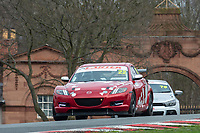 #22 Liam CRILLY Mazda RX8  during Cartek Club Enduro Championship as part of the 750 Motor Club at Oulton Park, Little Budworth, Cheshire, United Kingdom. April 14 2018. World Copyright Peter Taylor/PSP.
