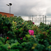 Victorian Gasometer. Stockport. 2003. UK