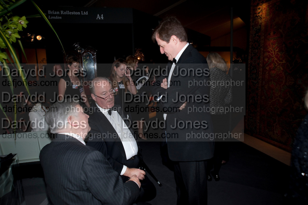 LORD CADOGAN; ALASTAIR CAMPBELL; , Bada Antiques Fine art Fair charity Gala. In aid of Leukaemia and Lymphoma Research. 18 March 2010.