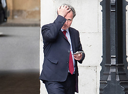 © Licensed to London News Pictures. 07/05/2019. London, UK. Conservative MP Sir Oliver Letwin is seen in Parliament. High level cross party talks have re-started today in an attempt to reach a compromise over Brexit. Photo credit: Peter Macdiarmid/LNP