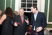 RICHARD VINES; ANTONY RETTIE, Streetsmart 2009 - campaign launch. The House Of St Barnabus, 1 Greek Street, Soho Square, London W1, <br /> Homeless charity hosts party to launch latest fundraising campaign. Throughout November and December, customers at participating restaurants will be asked to donate one pound to help those living rough. 27 October 2009