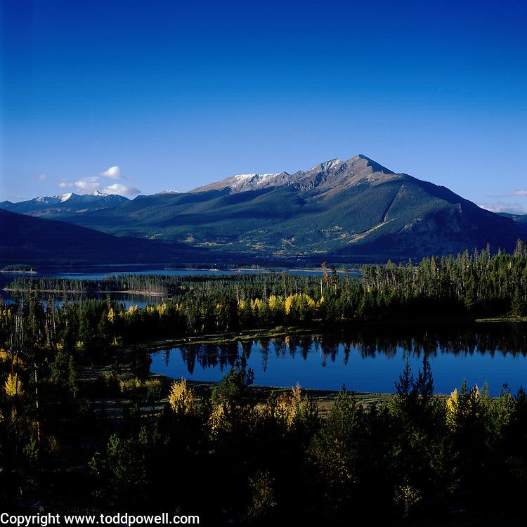 Lake Dillon & Ten Mile Range, Summit County, Colorado