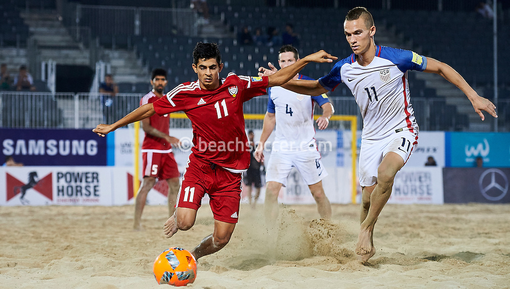Dubai, United Arab Emirates - November, 05<br /> Samsung Beach Soccer Intercontinental Cup  Dubai 2016 at Dubai International Marine Club on November 05, 2016 in Dubai, United Arab Emirates. (Photo by Lea Weil)