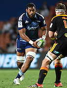 Patrick Tuipulotu during the Super Rugby match between The Chiefs and The Blues at Waikato Stadium in Hamilton, New Zealand. Saturday 4 April 2015. Copyright Photo: Andrew Cornaga / www.Photosport.co.nz