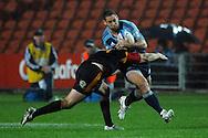 Luke McAlister in action. Investec Super Rugby - Chiefs v Blues, Waikato Stadium, Hamilton, New Zealand. Saturday 26 March 2011. Photo: Andrew Cornaga / photosport.co.nz