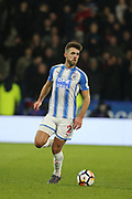 Huddersfield's Tommy Smith during the The FA Cup match between Huddersfield Town and Manchester United at the John Smiths Stadium, Huddersfield, England on 17 February 2018. Picture by George Franks.