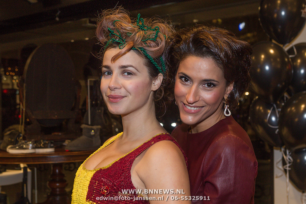 NLD/Rotterdam/20131129 - Lancering Talkies Glamour, Victoria Koblenko en Kristina Bozilovic