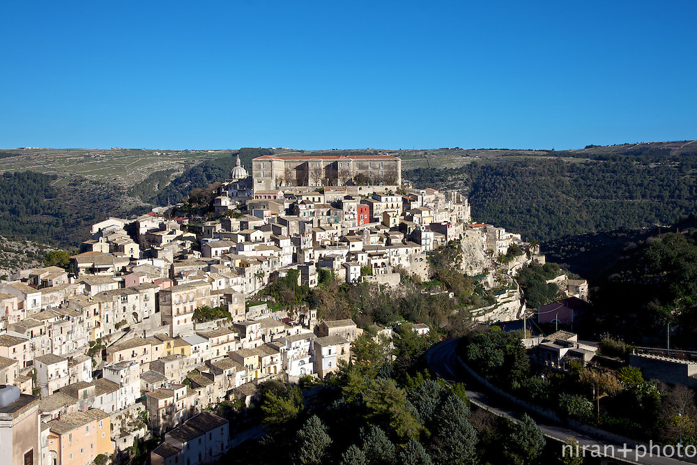 This is Ragusa Ibla.