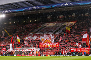 Stadium pre match during the Champions League semi final leg 1 of 2 match between Liverpool and Roma at Anfield, Liverpool, England on 24 April 2018. Picture by Simon Davies.