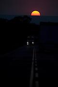 Varzea da Palma_MG, Brasil...BR 365 em Varzea da Palma, Minas Gerais...BR 365 in Varzea da Palma, Minas Gerais...Foto: LEO DRUMOND / NITRO
