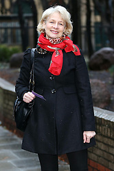 Former Pan's People dancer Patricia 'Dee Dee' Wilde arriving as a witness at the Dave Lee Travis trial at Southwark Crown Court , Wednesday, 5th February 2014. Picture by Stephen Lock / i-Images