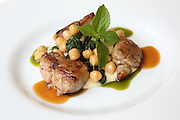 Char Grilled chicken with Chickpeas and TahinI