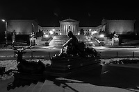 Philadelphia Museum of Art (monochrome)