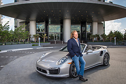 Gil Dezer of Dezer Development, developer of the Porsche Design Tower, located at 18555 Collins Ave, in Sunny Isles Beach.