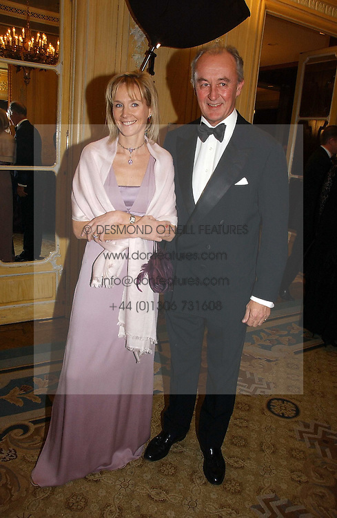 The DUKE & DUCHESS OF ROXBURGHE at the Cartier Racing Awards 2006 held at the Four Seasons Hotel, Hamilton Place, London on 15th November 2006.<br /><br />NON EXCLUSIVE - WORLD RIGHTS