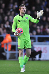 Adam Smith Goalkeeper Northampton Town, Cobblers, Northampton Town v MK Dons, FA Cup 3rd Round,  Sixfields Stadium, Saturday 9th January 2016