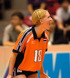 18-06-2000 JAP: OKT Volleybal 2000, Tokyo<br /> Nederland - China 3-0 / Ellen Koopman