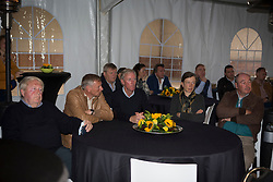 Ludo Philippaerts, (BEL) farewell from the sport together with his colleagues and old chef d'equipes Jean Paul Musette, Dirk Demeersman, Jos Lansink, Evelyne Blaton, and Philippe Lejeune<br /> Stoeterij Dorperheide - Meeuwen Gruitrode  2015<br />  © Hippo Foto - Dirk Caremans<br /> 28/04/15