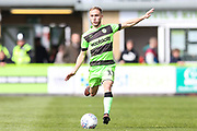 Forest Green Rovers Isaac Pearce(17) runs forward during the EFL Sky Bet League 2 match between Forest Green Rovers and Exeter City at the New Lawn, Forest Green, United Kingdom on 4 May 2019.