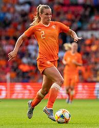 01-06-2019 NED: Netherlands - Australia, Eindhoven<br /> <br /> Friendly match in Philips stadion Eindhoven. Netherlands win 3-0 / Desiree van Lunteren #2 of The Netherlands