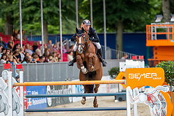 SOSATH Hendrik (GER), LADY LORDANA<br /> Münster - Turnier der Sieger 2019<br /> BRINKHOFF'S NO. 1 -  Preis<br /> CSI4* - Int. Jumping competition  (1.50 m) -<br /> 1. Qualifikation Grosse Tour <br /> Large Tour<br /> 02. August 2019<br /> © www.sportfotos-lafrentz.de/Stefan Lafrentz