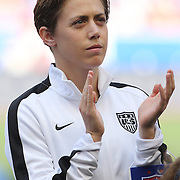 Meghan Klingenberg, U.S. Women's National Team, during the U.S. Women's National Team Vs Korean Republic, International Soccer Friendly in preparation for the FIFA Women's World Cup Canada 2015. Red Bull Arena, Harrison, New Jersey. USA. 30th May 2015. Photo Tim Clayton