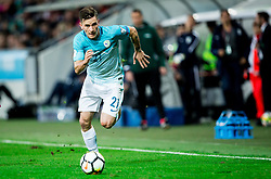 Benjamin Verbic of Slovenia during football match between National Teams of Slovenia and Scotland of Fifa 2018 World Cup European qualifiers, on October 8, 2017 in SRC Stozice, Ljubljana, Slovenia. Photo by Vid Ponikvar / Sportida