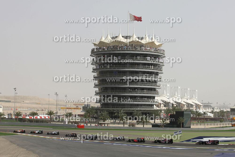 FORMEL 1: GP von Bahrain, Manama, 26.05.2009 Rennstrecke, Illustration<br /> &Atilde;'&Acirc;&copy; pixathlon