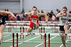 60 hurdles, Boston U, Aroke<br /> BU Terrier Indoor track meet