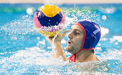 Kyriakos Pontikeas of Olympiacos during water polo match between Primorje Erste Bank (CRO) and Olympiacos Piraeus (GRE) in 8th Round of Champions League 2016, on April 16, 2016 in Kantrida pool, Rijeka, Croatia. Photo by Vid Ponikvar / Sportida