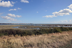 Canvey Island, Essex UK - Canvey Heights Country Park