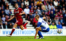 Adam Lallana of Liverpool crosses the ball - Mandatory by-line: Robbie Stephenson/JMP - 14/07/2017 - FOOTBALL - DW Stadium - Wigan, England - Wigan Athletic v Liverpool - Pre-season friendly