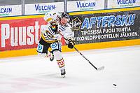 2020-01-17 | Rauma, Finland : Kärpät (5) Lasse Kukkonen during the game between Lukko-Kärpät in Kivikylän Areena ( Photo by: Elmeri Elo | Swe Press Photo )