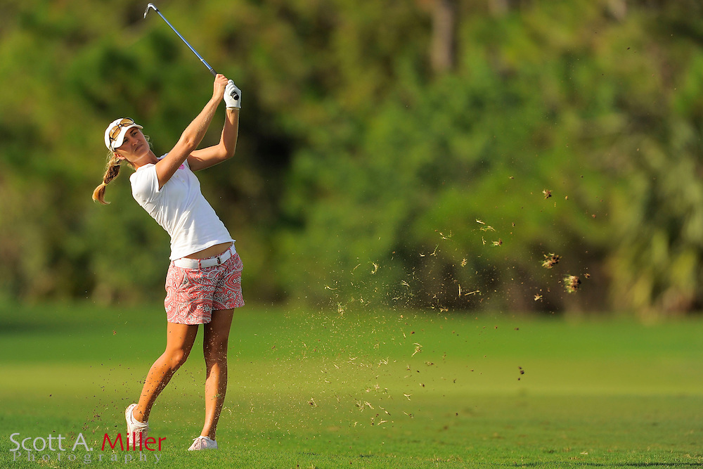 Megan McChrystal during the final round of the Symetra Tour Championship at LPGA International on Sept. 29, 2013 in Daytona Beach, Florida. <br /> <br /> <br /> &copy;2013 Scott A. Miller