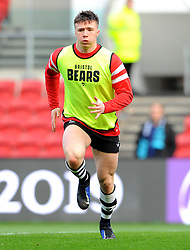 Charlie Powell of Bristol Bears  warms up ahead of kick-off - Mandatory by-line: Nizaam Jones/JMP - 19/01/2019 - RUGBY - Ashton Gate Stadium - Bristol, England - Bristol Bears v Enisei-STM - European Rugby Challenge Cup