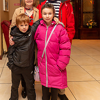 Trish and Joe Barnett with son Eoin and daughter Laura attending the Concert for Ennis Scouts at Treacys West County