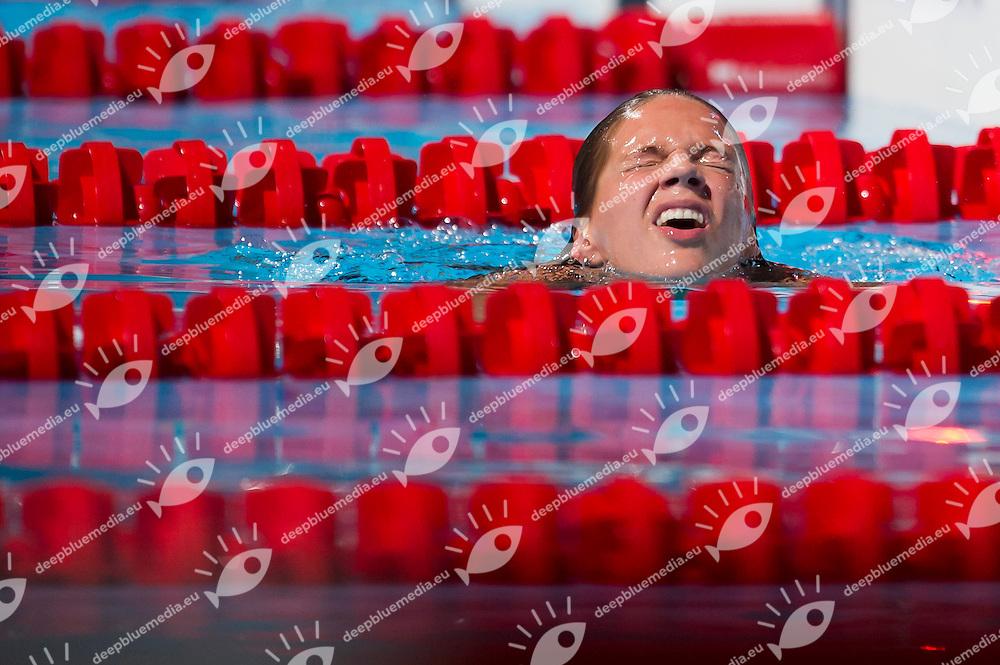 Yuliya Efimova RUS<br /> Women's 50m breaststroke semifinal<br /> 15th FINA World Aquatics Championships<br /> Palau Sant Jordi, Barcelona (Spain) 03/08/2013 <br /> &copy; Giorgio Perottino / Deepbluemedia.eu / Insidefoto