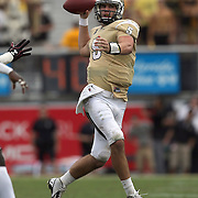 UCF Knights quarterback Blake Bortles (5) plays during an NCAA football game between the South Carolina Gamecocks and the Central Florida Knights at Bright House Networks Stadium on Saturday, September 28, 2013 in Orlando, Florida. (AP Photo/Alex Menendez)