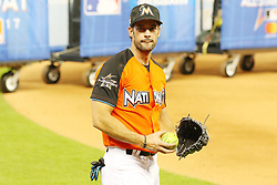 William Levy participates in the 2017 MLB All-Star Legends & Celebrity Softball Game at Marlins Park in Miami, Florida. 09 Jul 2017 Pictured: William Levy participates in the 2017 MLB All-Star Legends & Celebrity Softball Game at Marlins Park in Miami, Florida. Photo credit: Ralph Notaro / MEGA TheMegaAgency.com +1 888 505 6342