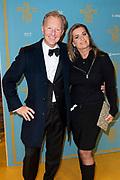Feestelijke premiere van de De Belofte van Pisa op maandag 7 oktober in Pathé Tuschinski.<br /> <br /> Op de foto:   Rick Nieman met zijn partner Sacha de Boer