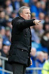 Wolverhampton Wanderers Manager Kenny Jackett points - Photo mandatory by-line: Rogan Thomson/JMP - 07966 386802 - 28/02/2015 - SPORT - FOOTBALL - Cardiff, Wales - Cardiff City Stadium - Cardiff City v Wolverhampton Wanderers - Sky Bet Championship.