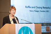 Closing remarks by Nancy Ploeger, President, MCC. Celebrating the business leaders in New York City, who have built outstanding businesses - contributing to the economy and community as well. The MCC Business Awards Breakfast is the Manhattan Chamber's premiere event adn was attended by over 250 entrepreneurs, business owners, executives and legislative leaders in New York City. (Photo: www.JeffreyHolmes.com)