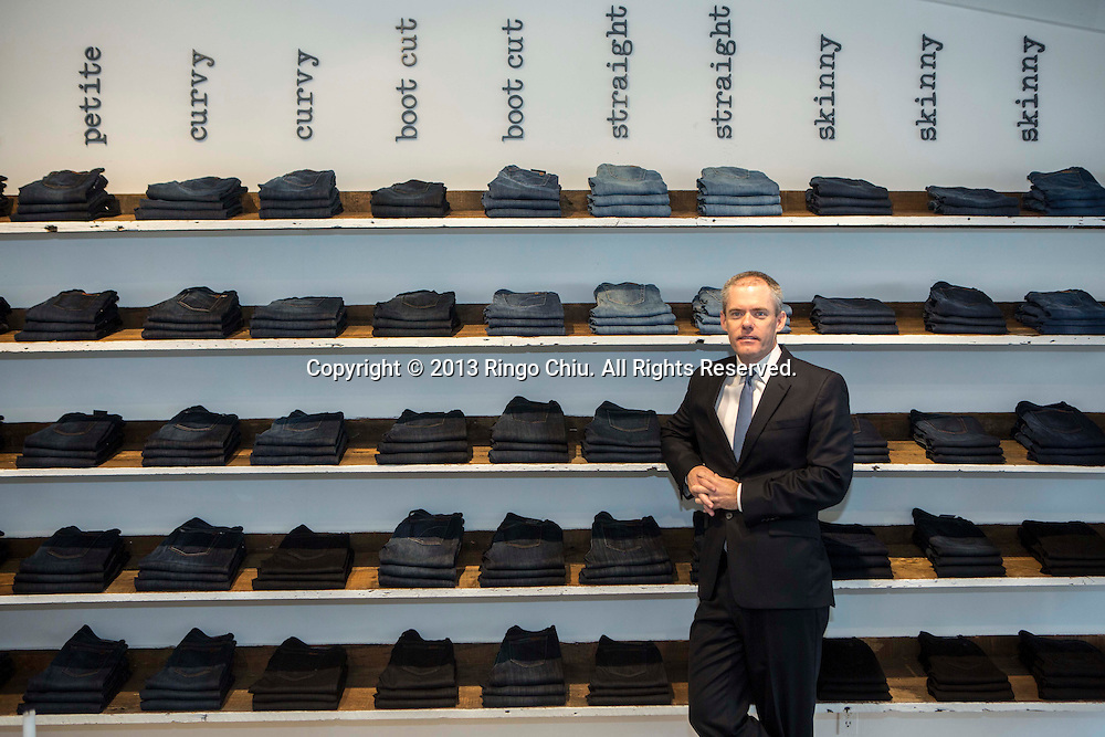 Marc Crossman, CEO of Joe's Jeans Inc. (Photo by Ringo Chiu/PHOTOFORMULA.com)..