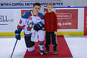 KELOWNA, CANADA - FEBRUARY 06: Second Star of the Game Leif Mattson #28 of the Kelowna Rockets at the Kelowna Rockets game on February 06, 2019 at Prospera Place in Kelowna, British Columbia, Canada. (Photo By Cindy Rogers/Nyasa Photography, *** Local Caption ***