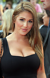Lucy Pinder arriving for the premiere of Keith Lemon The Film in London, Monday, 20th August 2012. Photo by: Stephen Lock / i-Images
