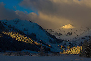 Morning Light on Squaw Valley